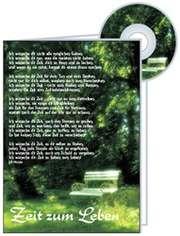 CD-Card:  Ich wünsche dir Zeit zum Leben - Konfirmation