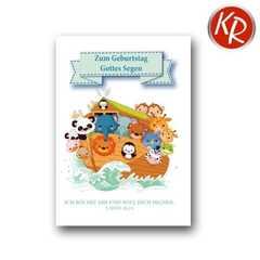Postkarte - Kindergeburtstag 1.Mose 26,24