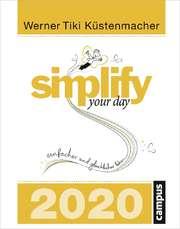 Simplify your day - Abreißkalender 2020