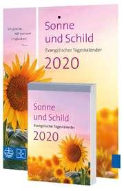 Sonne und Schild - Abreißkalender 2020