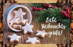 Kaffeekarte - Liebe Weihnachtsgrüße