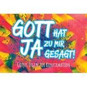 CD-Card: Gott hat Ja zu mir gesagt - Motiv Graffiti