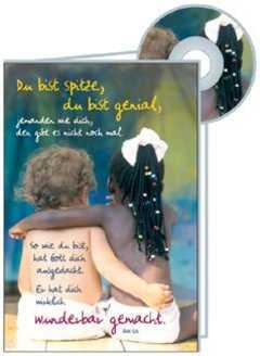 CD-Card: Du bist spitze - Geburtstag