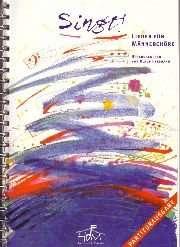 Partiturbuch: Singt!