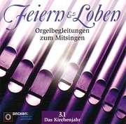 CD: Feiern und Loben Orgel-CD