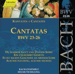 Cantatas Vol.8 (BWV 23/24/25/26)