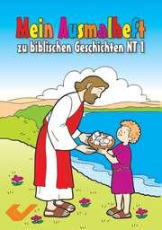 Mein Ausmalheft zur Bibel NT 1