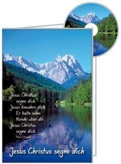 CD-Card: Jesus Christus segne dich - neutral
