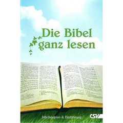 Die Bibel ganz lesen