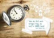 Was die Zeit auch bringen mag, ... - Faltkarte